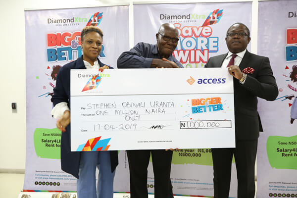 Access Bank PLC - DiamondXtra Account Winners 2019